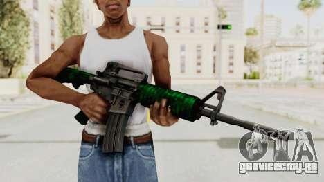HD M4 v4 для GTA San Andreas