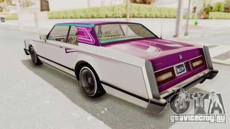 GTA 5 Dundreary Virgo Classic Custom v1 для GTA San Andreas двигатель