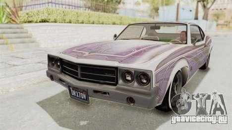 GTA 5 Declasse Sabre GT2 для GTA San Andreas