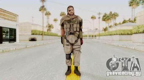 MGSV The Phantom Pain Venom Snake Scarf v3 для GTA San Andreas второй скриншот