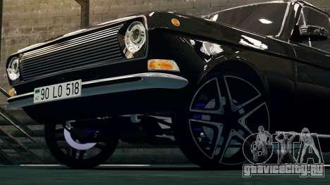 Gaz 24 Volga для GTA 4 вид слева