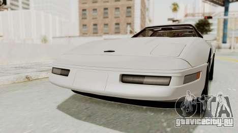 Chevrolet Corvette C4 1996 для GTA San Andreas вид справа