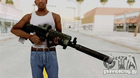 Killzone - M82 Assault Rifle Supressed для GTA San Andreas третий скриншот