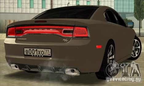 Dodge Charger для GTA San Andreas вид слева