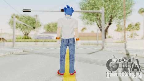 Sonic Man для GTA San Andreas третий скриншот