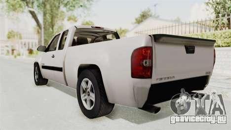 GMC Sierra 2010 для GTA San Andreas вид слева