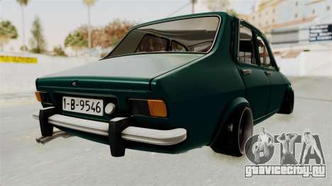 Dacia 1300 Order для GTA San Andreas вид сзади слева