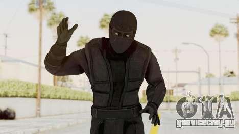 Mortal Kombat X Klassic Noob Saibot для GTA San Andreas