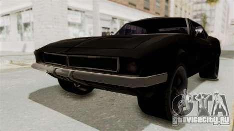 Chevrolet Camaro SS 1968 для GTA San Andreas