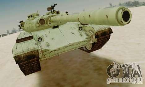 Т-72А для GTA San Andreas вид слева