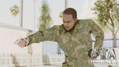 MGSV Ground Zeroes US Soldier No Gear v1 для GTA San Andreas