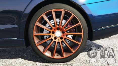 Mercedes-Benz S500 (W222) [yokohama] v2.1 для GTA 5 вид сзади справа