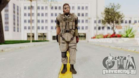 MGSV The Phantom Pain Venom Snake Desert для GTA San Andreas второй скриншот