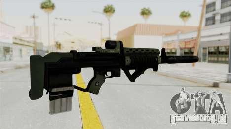Killzone - M82 Assault Rifle Supressed для GTA San Andreas второй скриншот