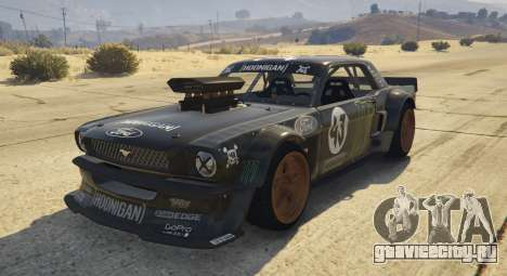 Ford Mustang 1965 Hoonicorn 1.2 [Replace] для GTA 5