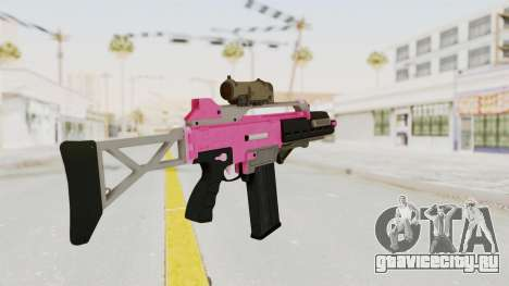 Special Carbine Pink Tint для GTA San Andreas второй скриншот