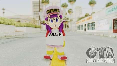 DBZBT3 - Arale для GTA San Andreas второй скриншот
