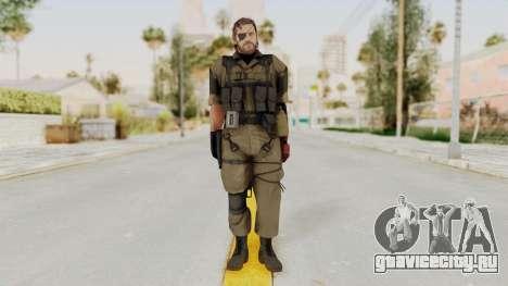 MGSV The Phantom Pain Venom Snake Olive Drab для GTA San Andreas второй скриншот