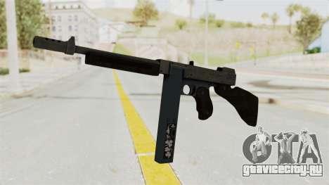 GTA 5 Gusenberg Sweeper Custom для GTA San Andreas