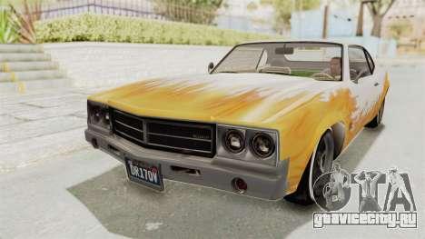 GTA 5 Declasse Sabre GT2 для GTA San Andreas вид сбоку