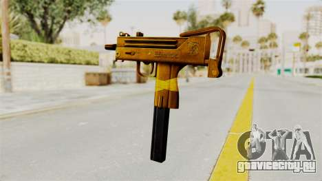 MAC-10 Gold для GTA San Andreas второй скриншот