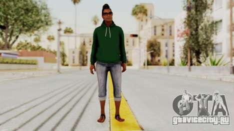 GTA 5 Denise Clinton v2 для GTA San Andreas второй скриншот