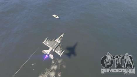 F-16C Block 52 для GTA 5 четвертый скриншот