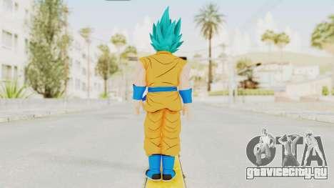 Dragon Ball Xenoverse Goku SJ для GTA San Andreas третий скриншот