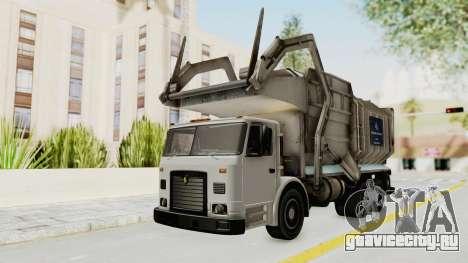 New Trashmaster для GTA San Andreas вид сзади слева