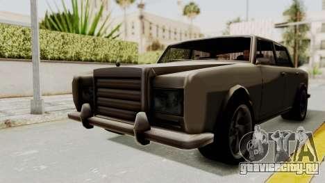 Stafford v2 для GTA San Andreas вид справа