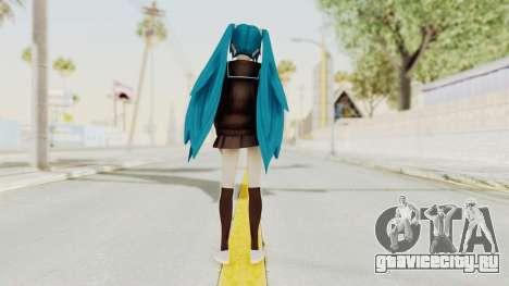 Project Diva F2nd - Hatsune Miku (Rolling Girl) для GTA San Andreas третий скриншот