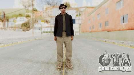 Walter White Heisenberg v1 GTA 5 Style для GTA San Andreas второй скриншот