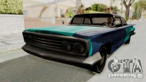 Beater 1962 Voodoo для GTA San Andreas вид сзади слева