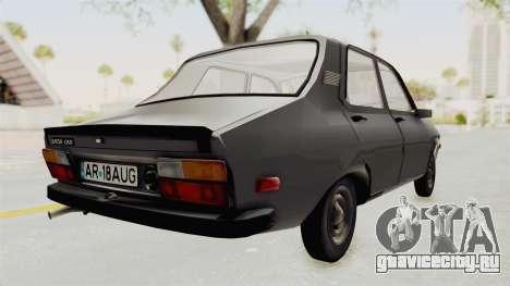 Dacia 1310 TX 1985 для GTA San Andreas вид сзади слева