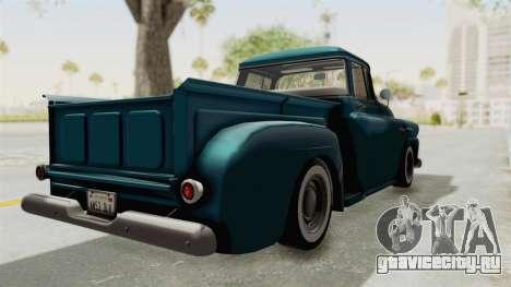 Chevrolet Apache 1958 для GTA San Andreas вид сзади слева