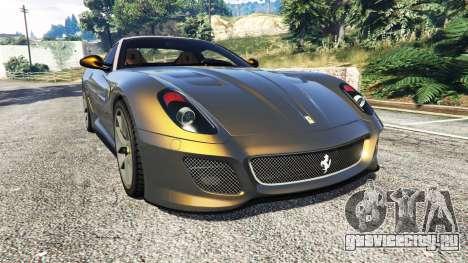 Ferrari 599 GTO для GTA 5