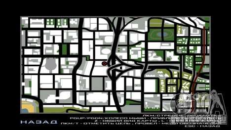 LSPD New Garage для GTA San Andreas шестой скриншот