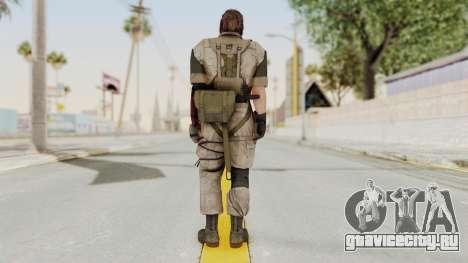 MGSV The Phantom Pain Venom Snake No Eyepatch v3 для GTA San Andreas третий скриншот