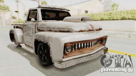 GTA 5 Slamvan Lowrider PJ2 для GTA San Andreas вид сзади слева