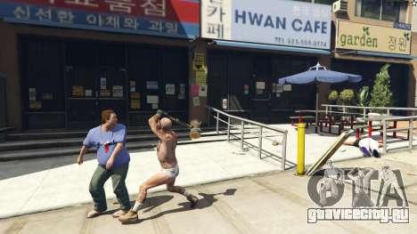 Wooden Fantasy Hammer для GTA 5 седьмой скриншот