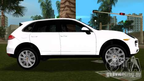 Porsche Cayenne 2012 для GTA Vice City вид слева