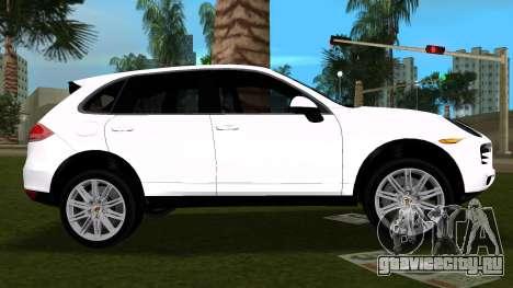 Porsche Cayenne 2012 для GTA Vice City вид слева
