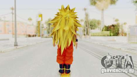 Dragon Ball Xenoverse Goku SSJ3 для GTA San Andreas третий скриншот