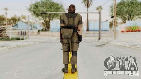 MGSV The Phantom Pain Venom Snake Olive Drab для GTA San Andreas третий скриншот