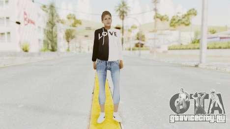 Female Skin v1 для GTA San Andreas второй скриншот