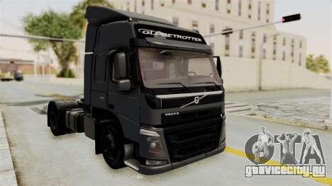 Volvo FM Euro 6 4x2 v1.0 для GTA San Andreas вид сзади слева