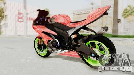 Kawasaki Ninja ZX-6R Boy from Anak Jalanan для GTA San Andreas вид слева