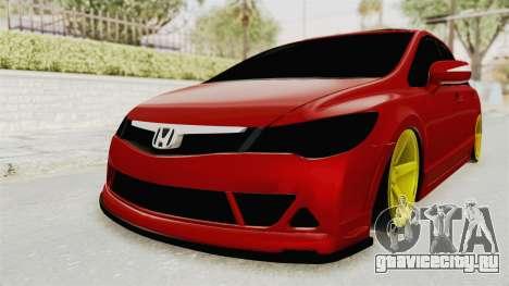 Honda Civic FD6 для GTA San Andreas