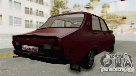 Dacia 1310 TX Realistica для GTA San Andreas вид слева