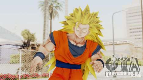 Dragon Ball Xenoverse Goku SSJ3 для GTA San Andreas
